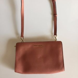 Michael Kors Saffiano Leather Crossbody Bag